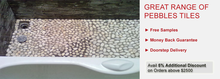 Meshed Pebbles Tiles