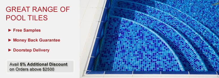 Pool Tiles  | Blue