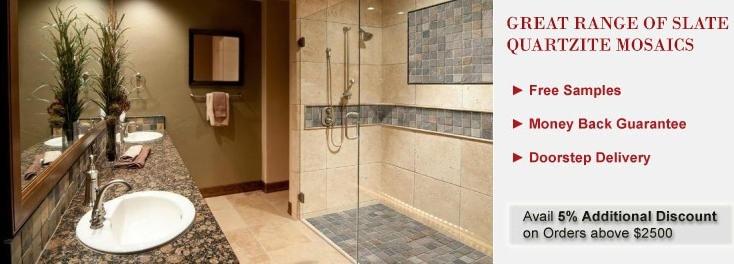 Slate / Quartzite Mosaics Tile