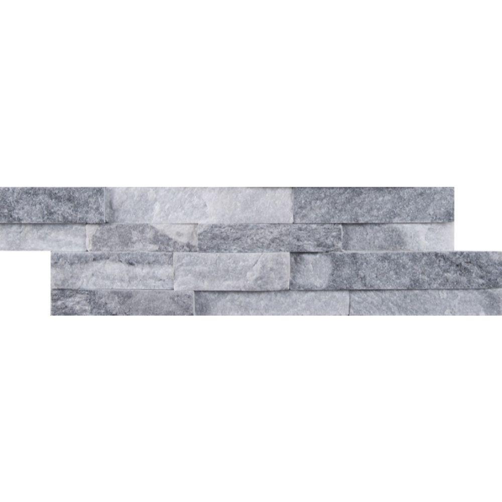 Alaska Gray 4.5x16 Split Face Mini Ledger Panel