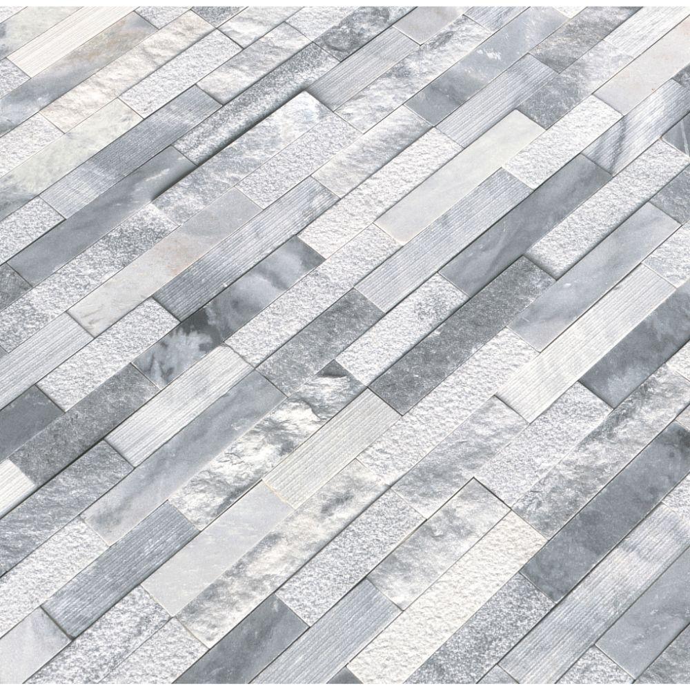Alaska Gray 6x24 Multi Finish Ledger Panel Tilesbay Com