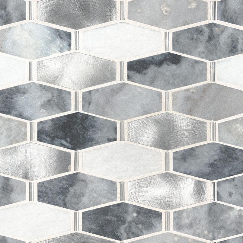 Ankara Polished Decorative Pattern Backsplash Wall Tile
