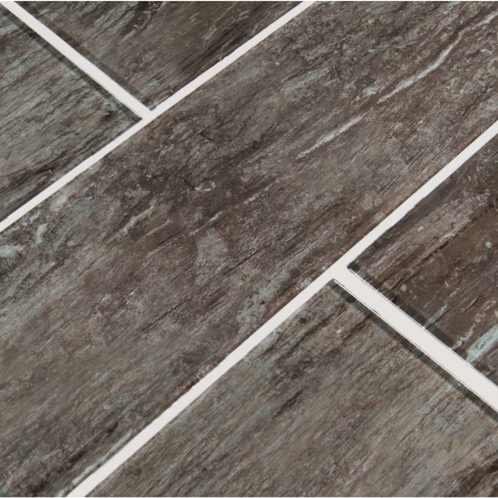 Antico Silversmith 4x12 Gray Subway Tile
