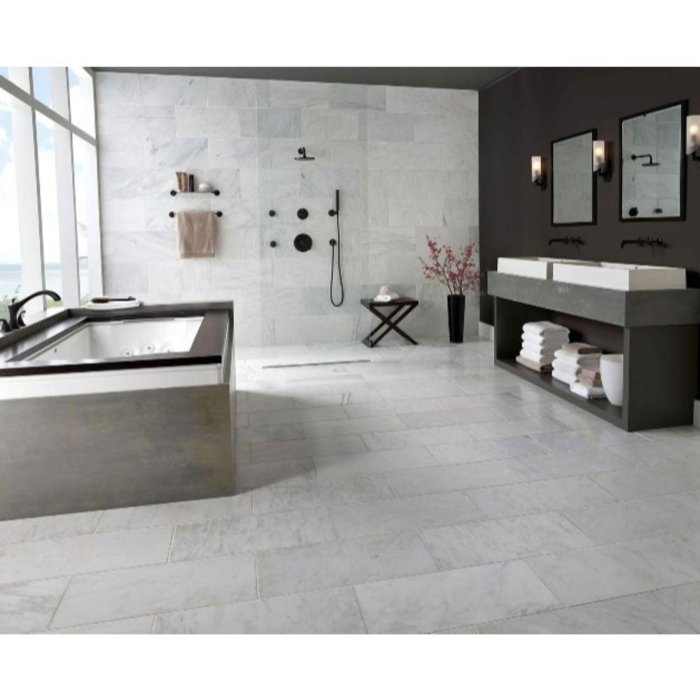 Arabescato Carrara 6X12 Honed