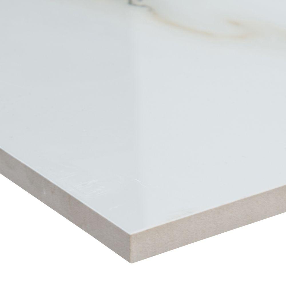 Bianco Porcelain Tile: Aria Bianco 12X24 Polished Porcelain Tile