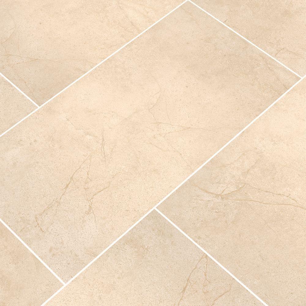Aria Cremita 12X24 Polished Porcelain Tile