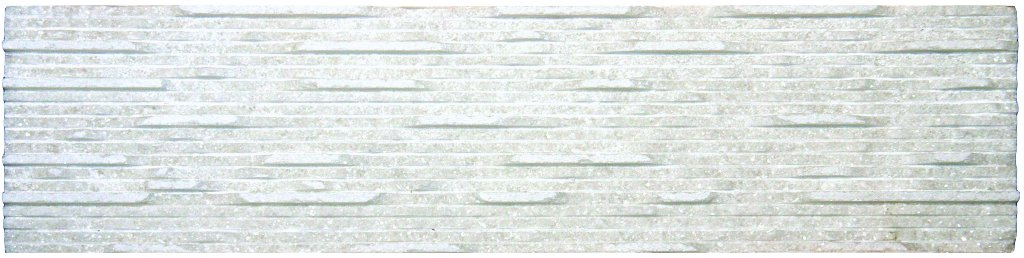 Aurora Ivory Marble Grooved 6X24