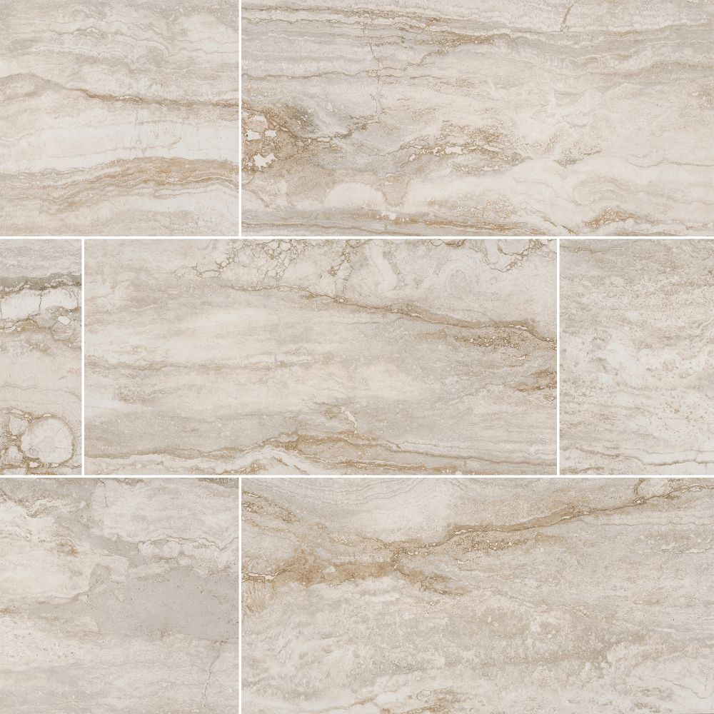 Bernini Bianco 12X24 Matte Porcelain Tile