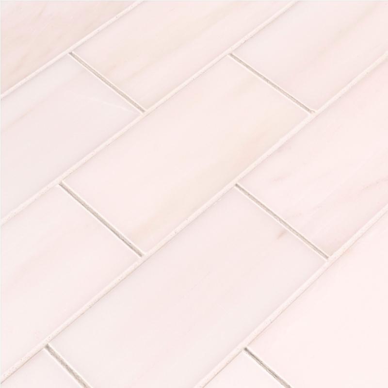Bianco Dolomite 3x6 Polished Subway Tile