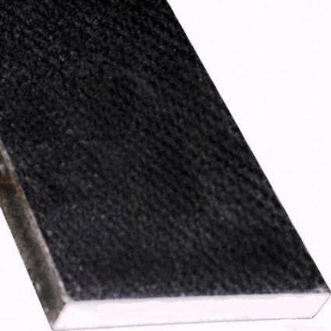 "Black Granite 6x72x3/4"" Polished Double Bevel Threshold"