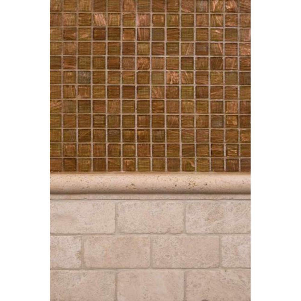 Bologna Chiaro 3x6 Tumbled Travertine Floor And Wall Tile