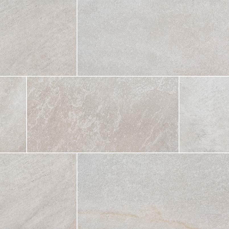 Brixstyle Blanco 2.4X24 Matte Bullnose Porcelain Tile