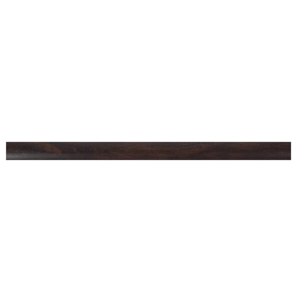 Burnished Acacia 2-3/4X94 Vinyl Overlapping Stair Nose