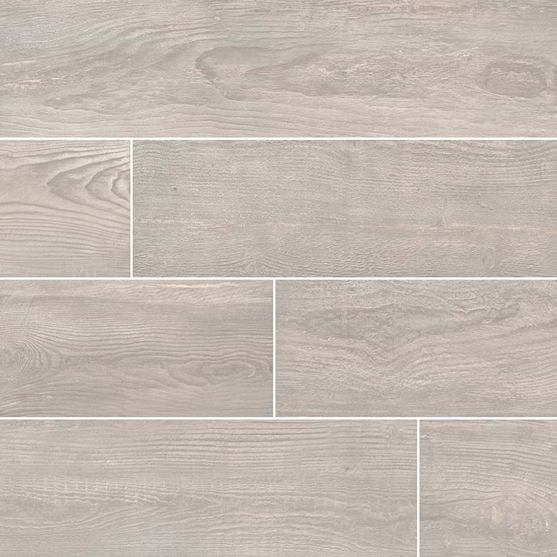 Caldera Grigia 8x47 Wood Look Rectified Matte Porcelain Tile