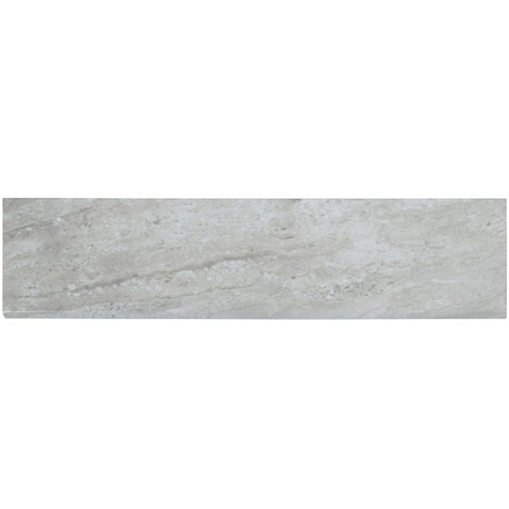 Classique Gris Travertine 4X16 Glossy