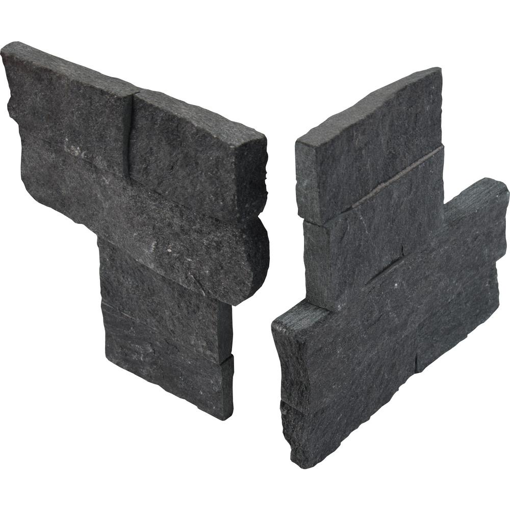 Coal Canyon 4.5x9 Split Face Mini Corner Ledger Panel