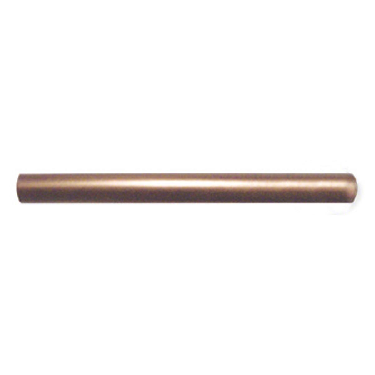 Copper Metal 0.5x6 Half Round Listello Molding