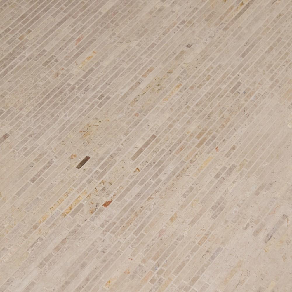 Crema Ivy Bamboo 12X12 Tumbled