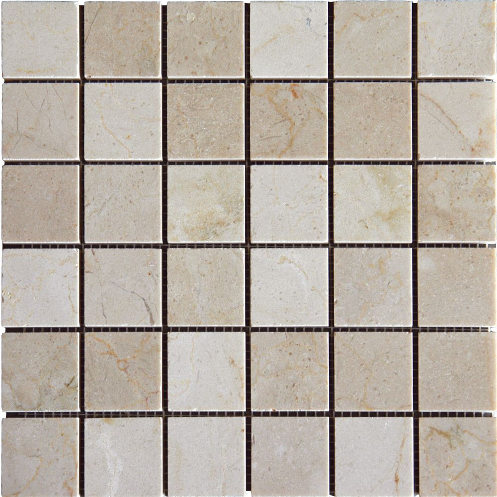 Crema Marfil 2x2 Polished