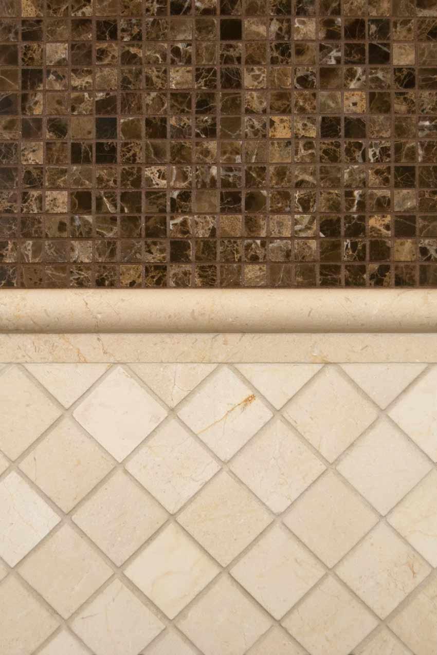 Crema Marfil Rail 1x2x12 Polished