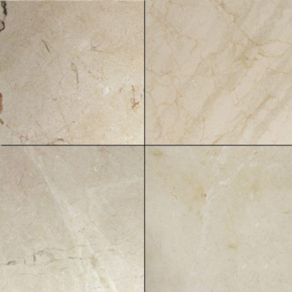 Crema Marfil Select 24X24 Polished Marble Tile