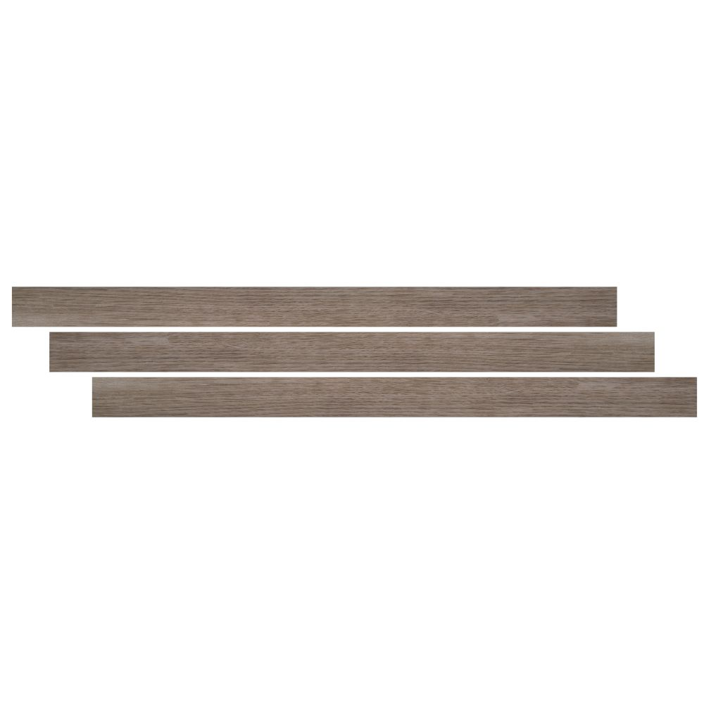 Cyrus Whitfield Gray 1-3/4X94 Vinyl Tmolding