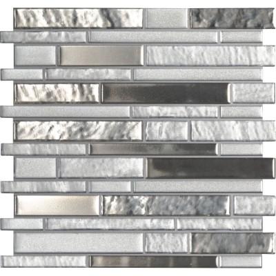 Adara Interlocking Pattern 8mm Glass Tile