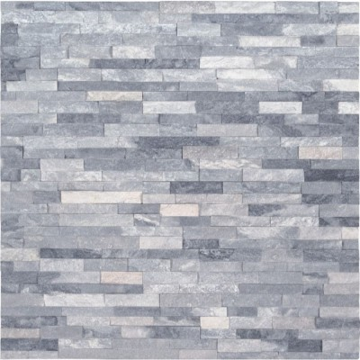 Alaska Gray 4.5x16 Split Face Mini Ledger Panel