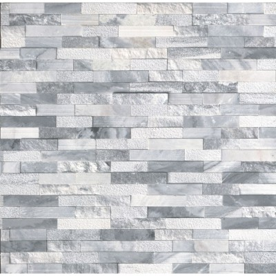 Alaska Gray 6x24 Multi Finish Ledger Panel