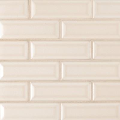 Smoke Gray 2x4 bevel Ceramic Subway Tile