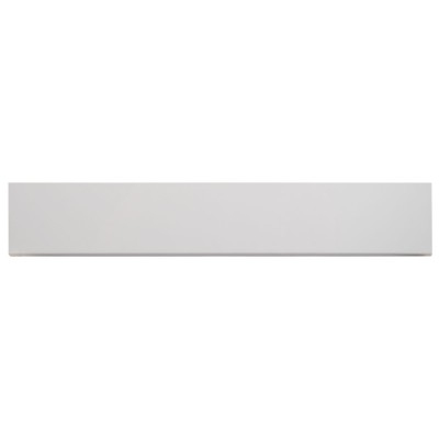 Aria Bianco Bullnose 3X18 Polished Porcelain Tile