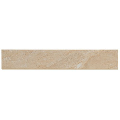 Aria Oro Bullnose 3X18 Polished Porcelain Tile
