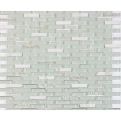 Ballentine Random Strip12x12 Blend mosaic