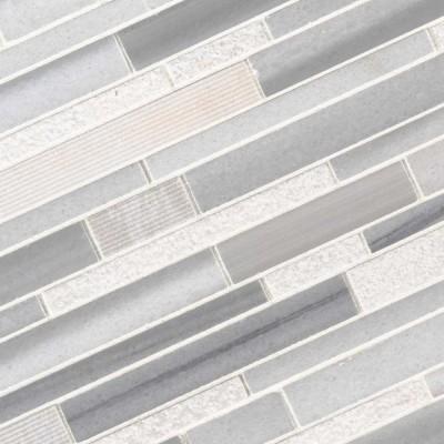Bergamo Interlocking 11X11 Multi Marble Mosaic
