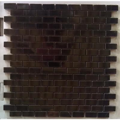 Black Marble 12X12 Interlocking Mosaic