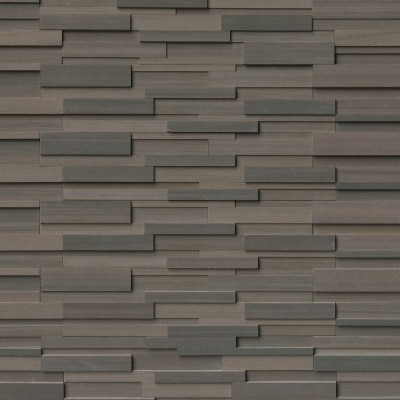 Brown Wave 3D Honed Panel 6x24