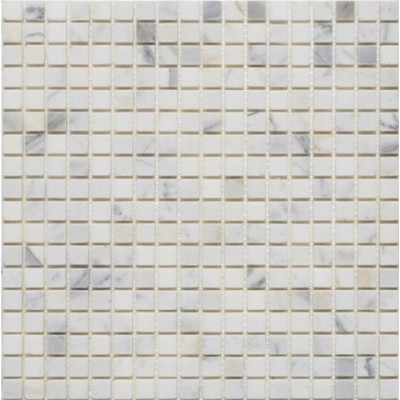Calacutta 5/8x5/8 Polished Mosaic
