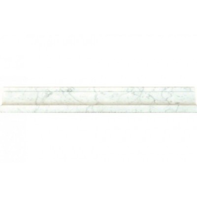 Carrara White Cornice Molding Polished