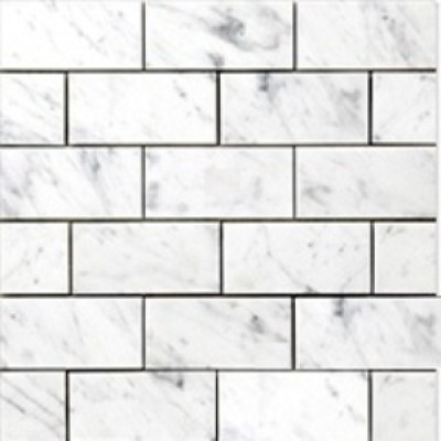 Carrara 3x6 Polished Marble Subway Tile