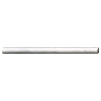 Carrara White Pencil Polished Molding