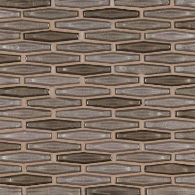 Champagne Estate Pattern Decorative Glass Mosaic