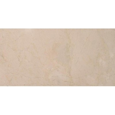 Cream Marfil 12x24 Polished Marble Tile