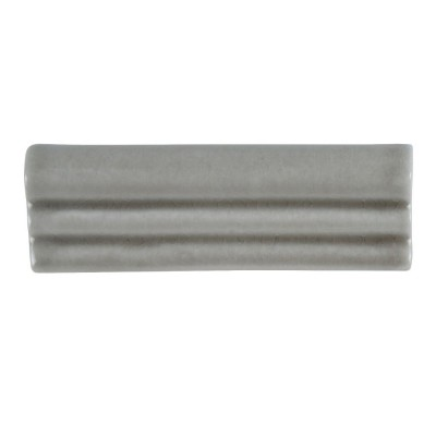 Dove Gray Crown 2x6 Glossy