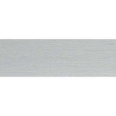 Dymo Stripe White 12X36 Glossy Ceramic Tile
