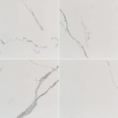 Eden Statuario 24X24 Polished Porcelain Tile