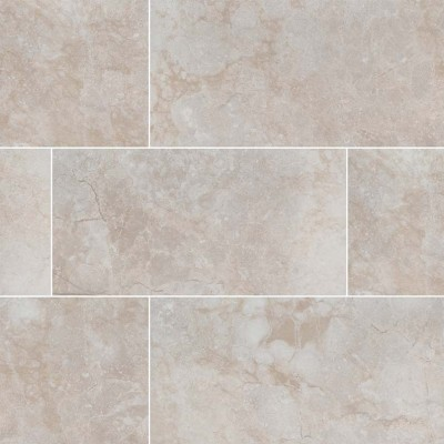 Essentials Charisma White Bullnose 3X18 Matte Ceramic Tile
