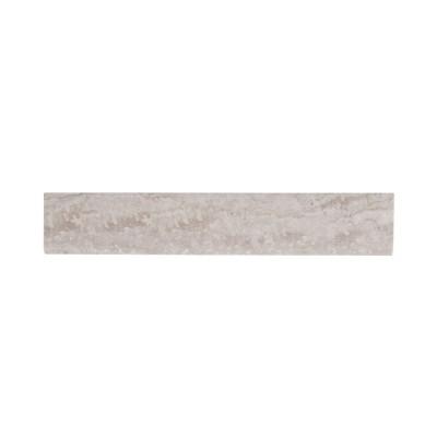 Essentials Sigaro Ivory Bullnose 3X18 Matte Ceramic Tile