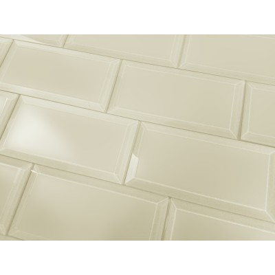 Frosted Elegance Cecilia 3X6 Matte Subway Glass