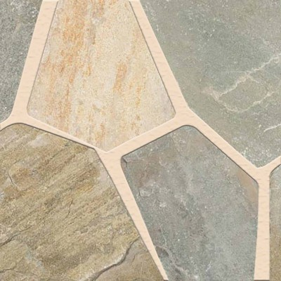 Golden White Hardscaping Natural Cut Slate Flagstone