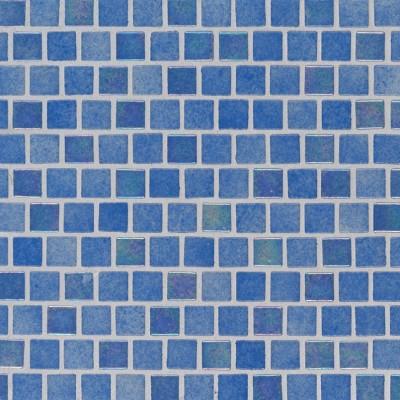 Hawaiian Beach 1X1 Staggered Glass Mosaic